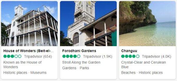 Zanzibar Attractions